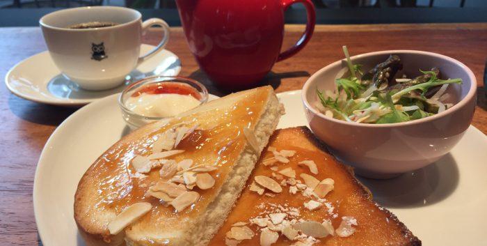 コーヒーポットまでかわいい「ALLEGRIA COFFEE」のモーニング@一番町