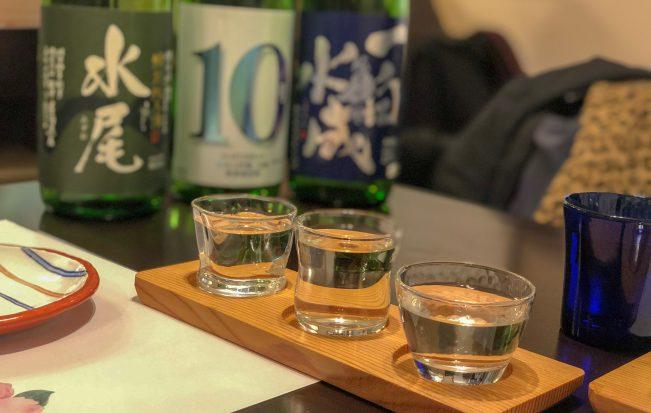 1,000円で日本酒3種飲み比べ!「和酒 さとう」