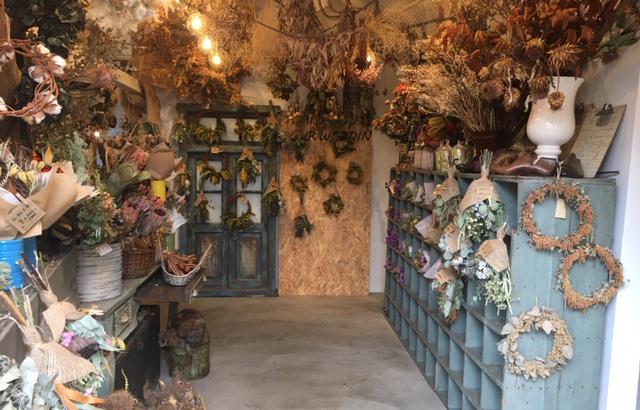 お店全体がかわいすぎ!!お花の香りに包まれて、心も体も癒される素敵な空間