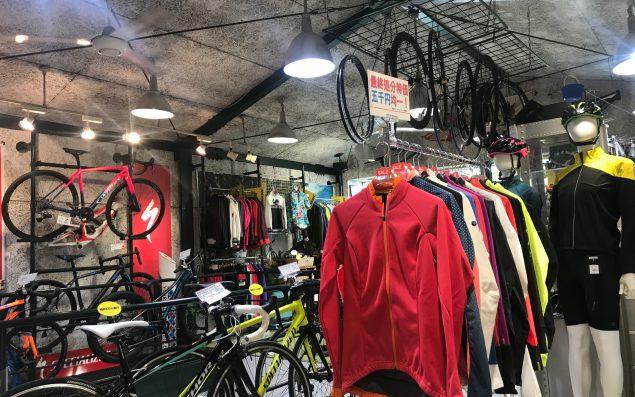 ビギナーから上級者まで大満足な街の自転車屋さん