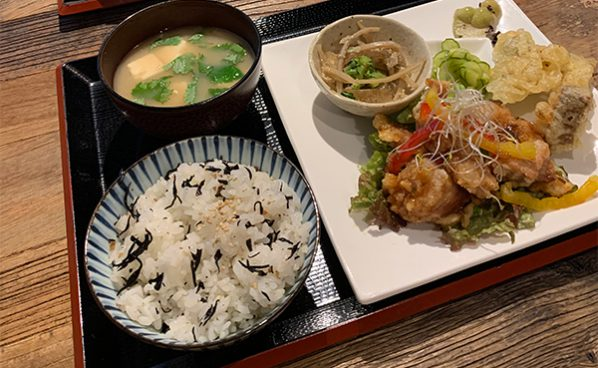 松山ランチに迷ったら、お野菜ごろごろ「てんさいとう」の御膳を食べよう